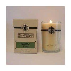 Bamboo Teak Candle