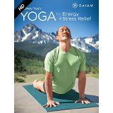 Rodney Yee Yoga for Energy and Stress Relief on a yoga meditation mat