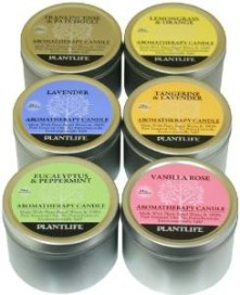 6 Piece Aromatherapy Scented Candles Set