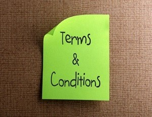 terms and conditions post note