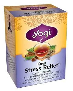 a box of Kava stress relief tea